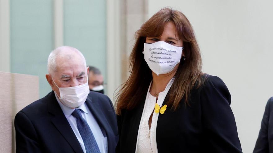 Laura Borràs, elegida presidenta del Parlament de Cataluña