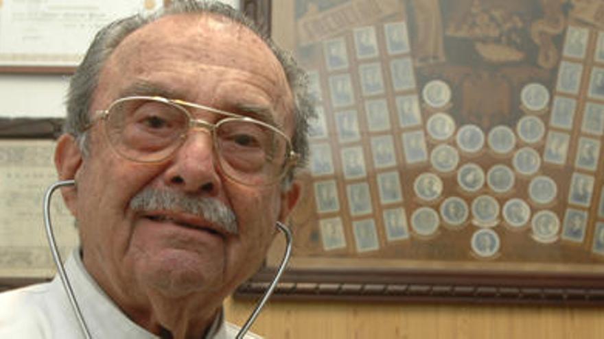 Fallece Fermín Martínez Gómez, el doctor más veterano de la provincia de Las Palmas
