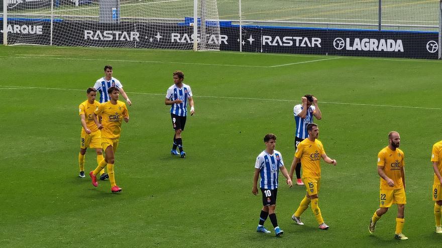 El Orihuela pierde ante el Espanyol B (2-1) y se complica la permanencia