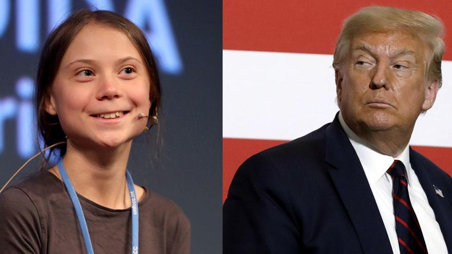 """Greta Thunberg se la devuelve a Trump un año después: """"Relájate, Donald, relájate"""""""