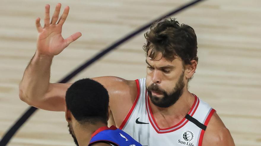 Los Raptors de Marc Gasol cierran con derrota la temporada regular de la NBA