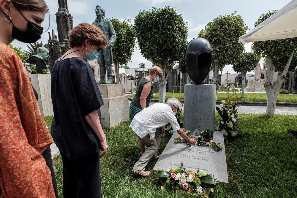 Monumento Funerario a Martín Chirino en el Cementerio de Vegueta