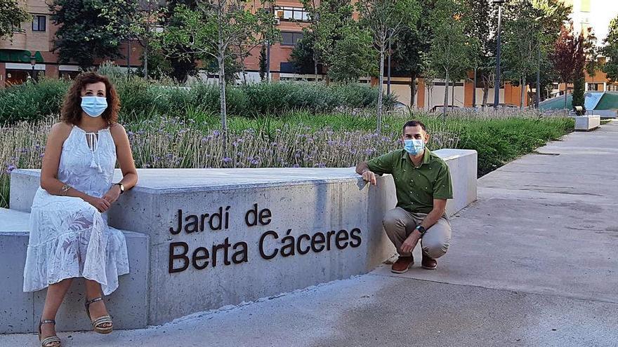 La activista hondureña Berta Cáceres ya da nombre a un parque