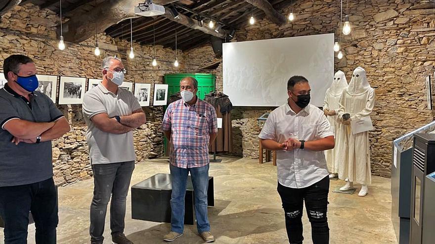 Bercianos de Aliste abre el Centro de Interpretacion de su Semana Santa