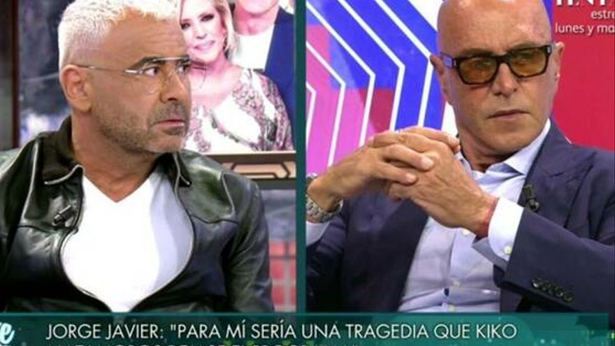"""Jorge Javier, a Kiko Matamoros: """"No hay que perder el tiempo con gentuza"""""""