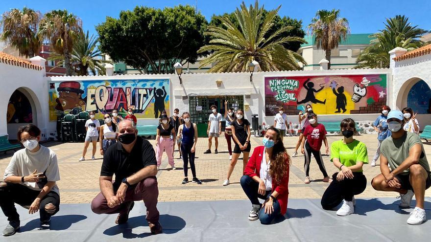 Concluye el campus 'Vive tu verano con movimiento' en Telde