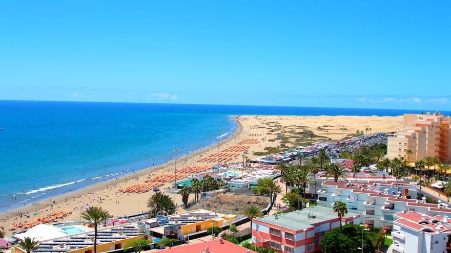 Altercado en un hotel de Playa del Inglés