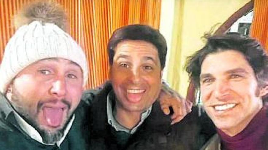 Francisco, Cayetano y Kiko, juntos por Navidad