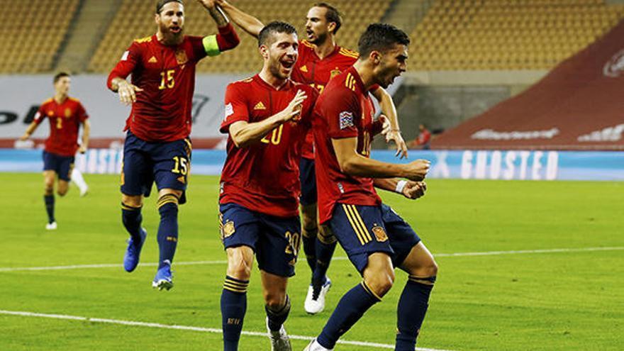 Espanya, a la fase final  de la Lliga de les Nacions en apallissar Alemanya