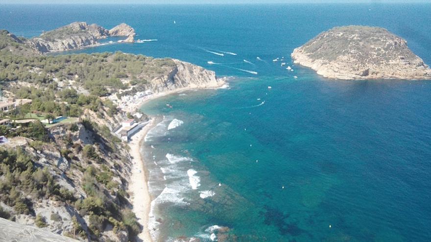 """El proyecto """"Islas de Xàbia"""" definirá un plan de acción para el Descobridor, el Portitxol y los islotes del sur del municipio"""