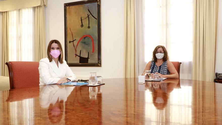 Armengol pide al PP consenso para defender los intereses de Balears en Madrid