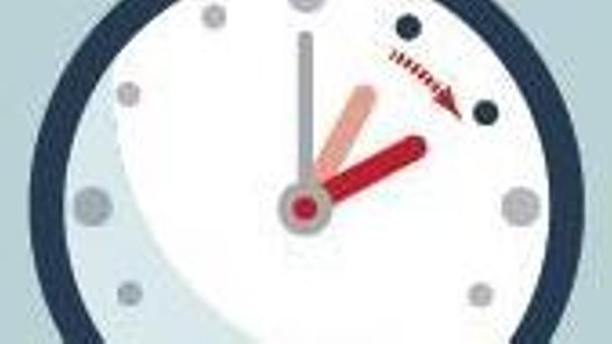 El reloj se adelanta  una hora esta noche