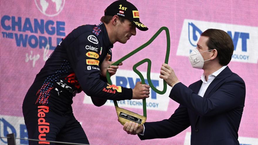 Verstappen gana el GP de Estiria