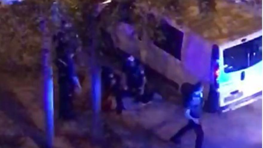 VÍDEO | Escena de película en Castelló con la detención de un conductor drogado