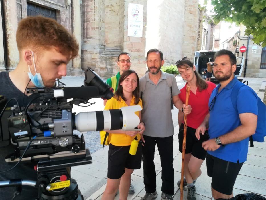 Rodatge de la pel·lícula sobre el Camí Ignasià
