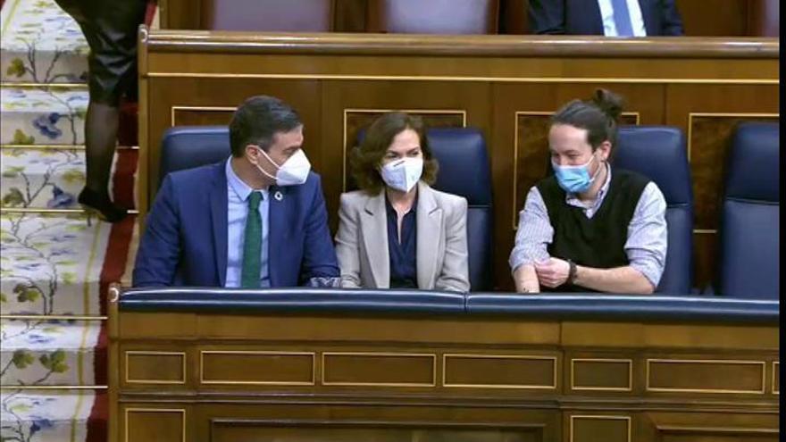 Sánchez y Podemos conjuran una ruptura del Gobierno