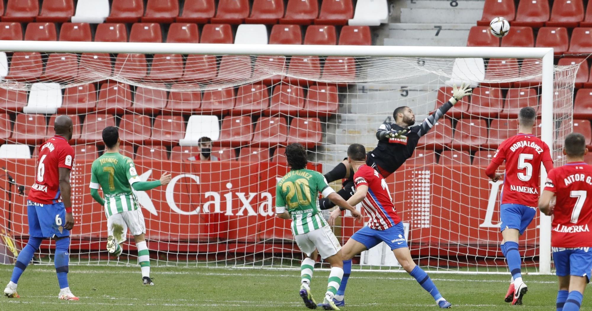Las imágenes del Betis-Sporting