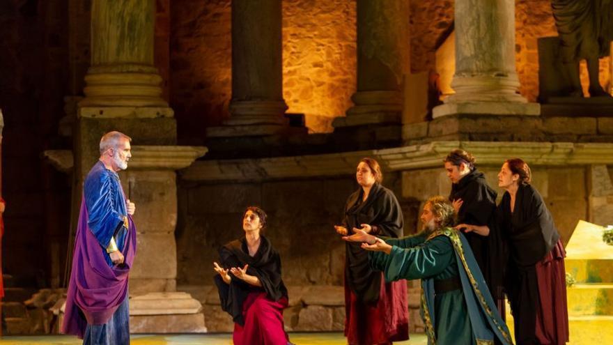 'Las Suplicantes', grisácea ceremonia de coros