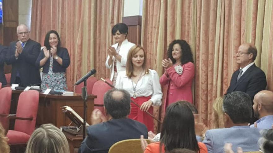 Nieves Lady Barreto (CC), nueva presidenta del Cabildo de La Palma