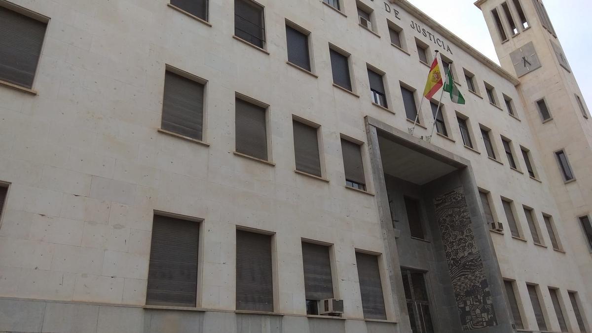 Una imagen de la Audiencia Provincial de Almería.