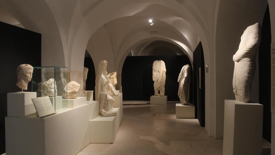 Las esculturas romanas halladas en el Minguillar seguirán en el Museo de Baena