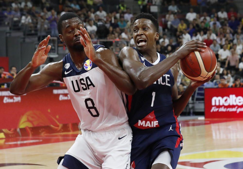 Mundial de Baloncesto: Francia - Estados Unidos