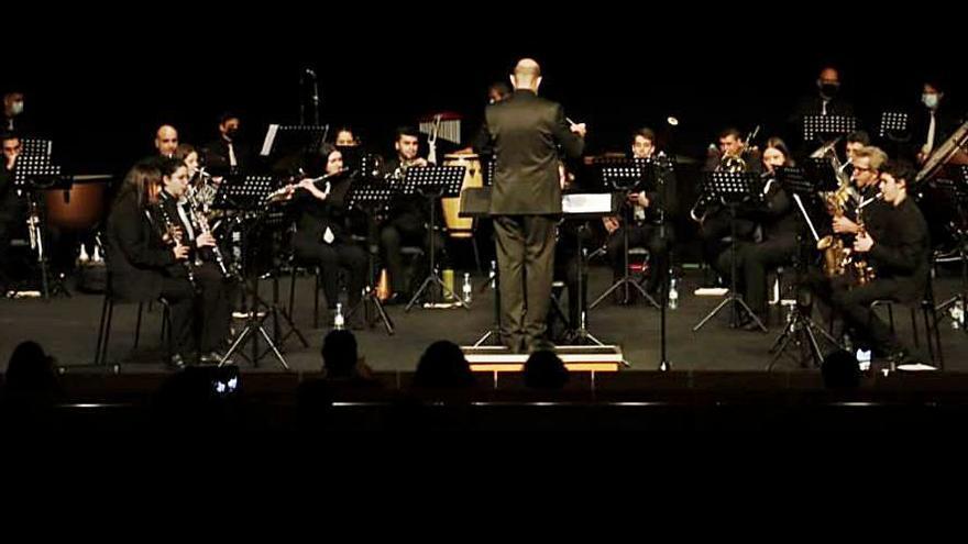 Concierto de Santa Cecilia con Nacor Blanco en el Ramos Carrión de Zamora