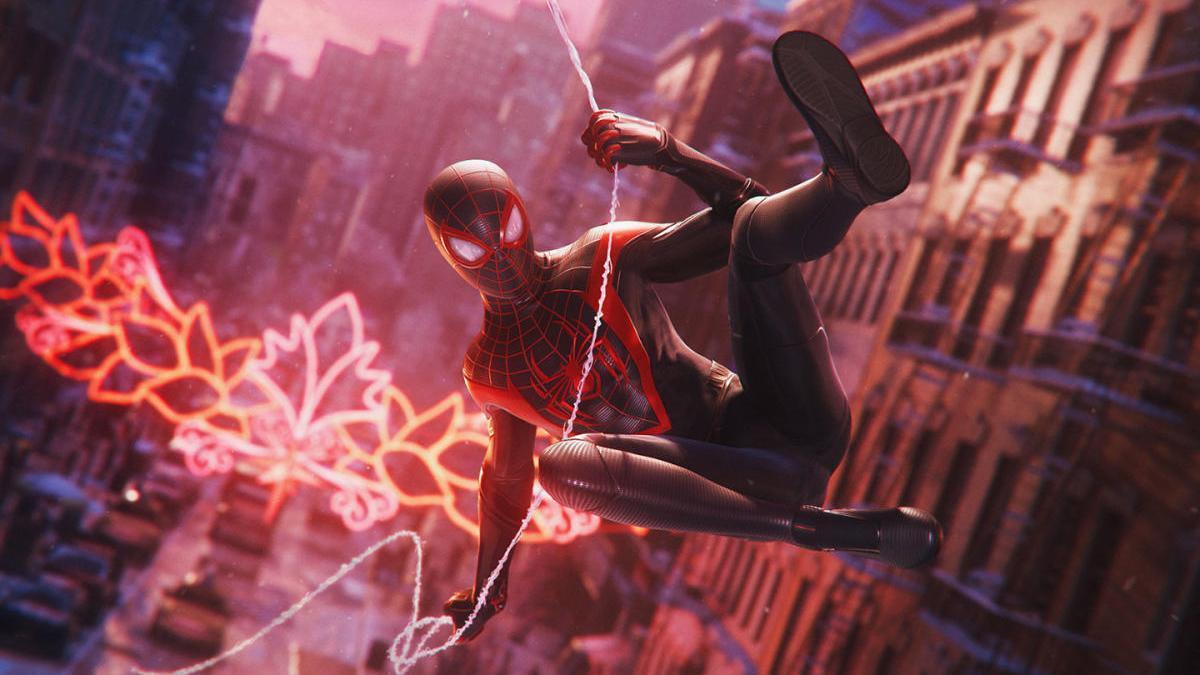 Una imagen del juego 'Marvel's Spider-Man: Miles Morales'.