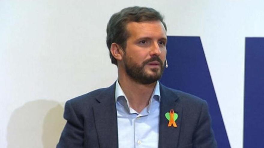 """Casado pide a """"la izquierda patriótica"""" frenar la ley Celaá"""