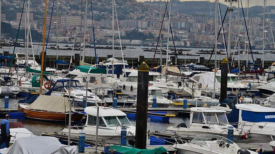 Portos amplía la concesión de los pantalanes deportivos de Moaña hasta el año 2047