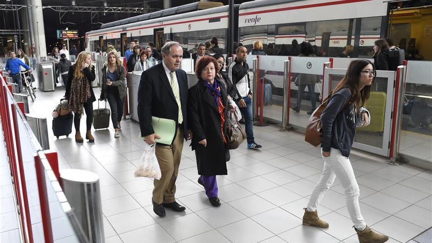 Reestablecida la circulación de trenes tras los atrasos de Cercanías por una avería en València