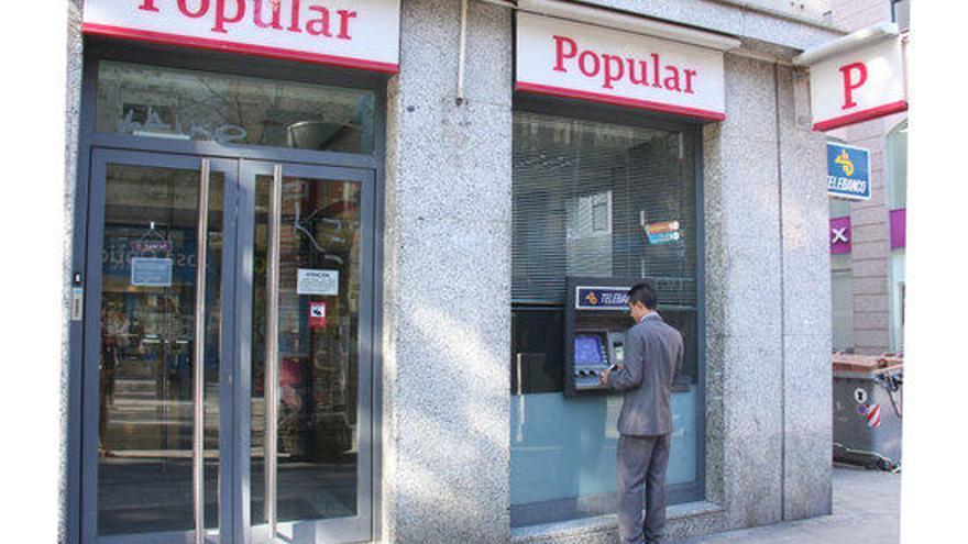El Banc Popular tanca la jornada perdent un altre 18% del seu valor a borsa