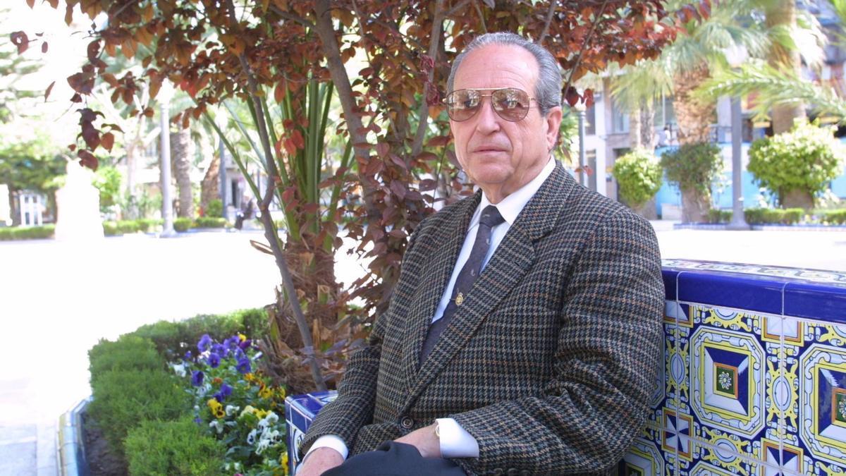 Antonio Martínez García, en una imagen retrospectiva.