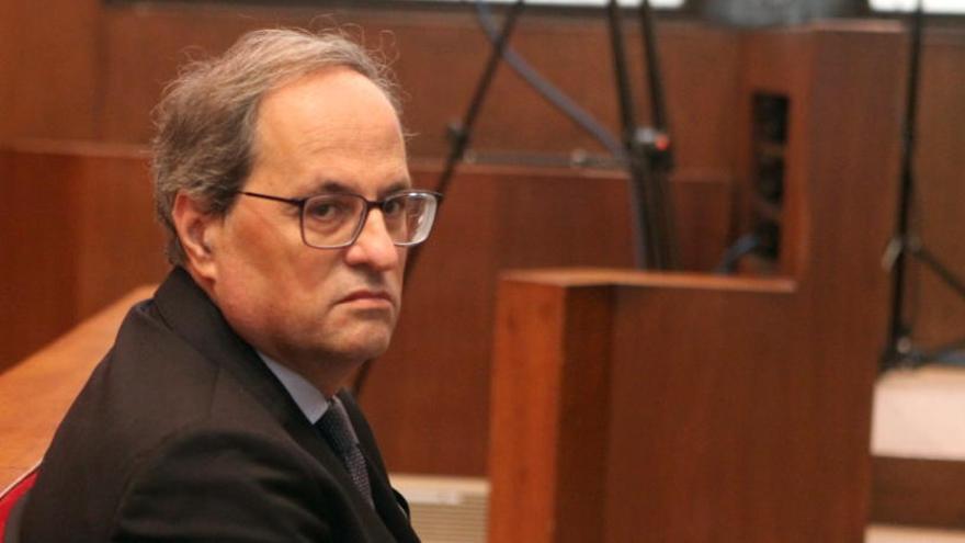 La Junta Electoral desestima les peticions de PP, Cs i Vox de cessar ara Torra com a diputat