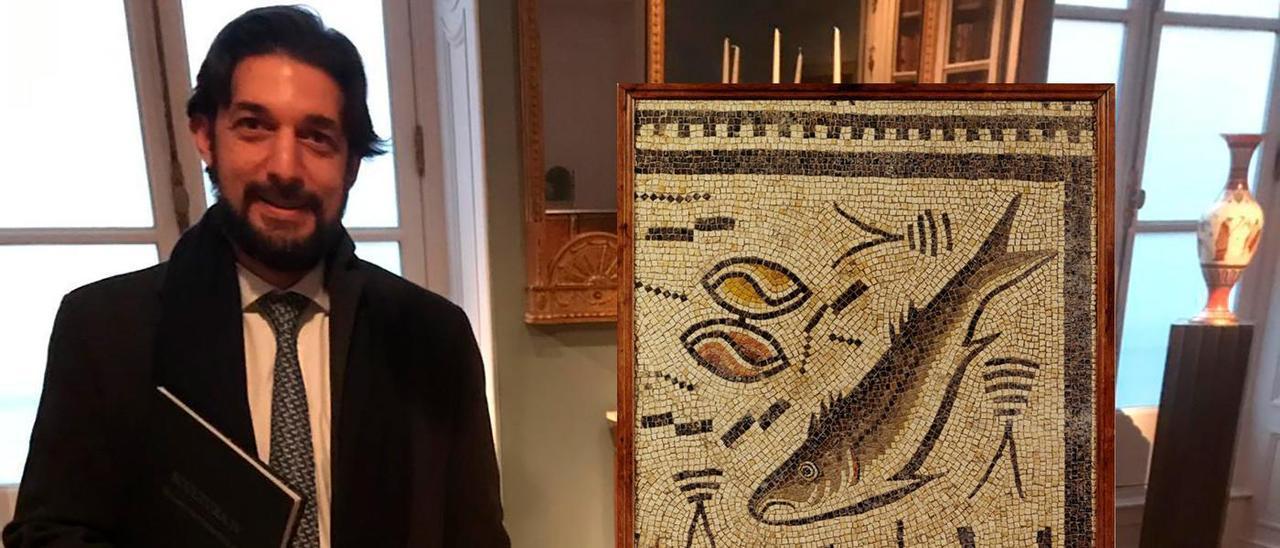 Gonzalo Fernández-Turégano descubrió la pieza en una galería