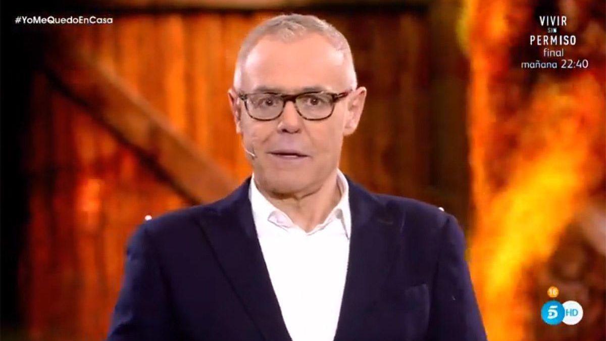 Jordi González, en 'Supervivientes'.