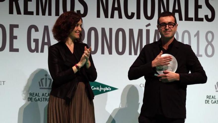 Camarena, Premio Nacional de Gastronomía al Mejor Jefe de Cocina