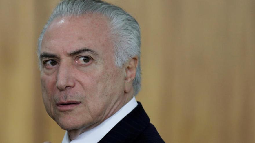 La Fiscalía de Brasil denuncia a Michel Temer por corrupción