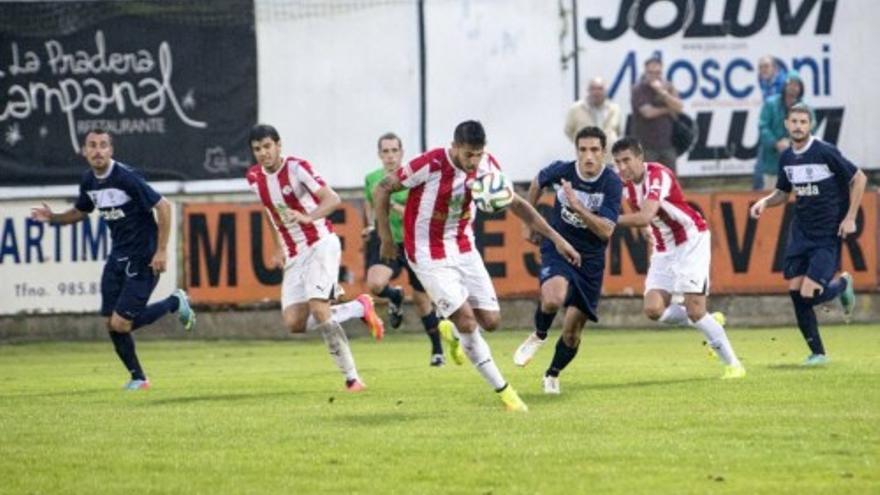 El Zamora CF empata contra el Marino de Luanco