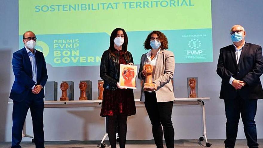 Gandia recibe dos premios autonómicos por su gestión ambiental