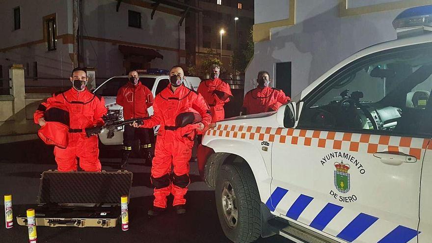 Protección Civil revisa los hidrantes del concejo de Siero