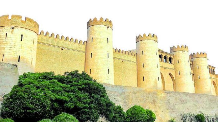 De la itinerancia  a la  Aljafería