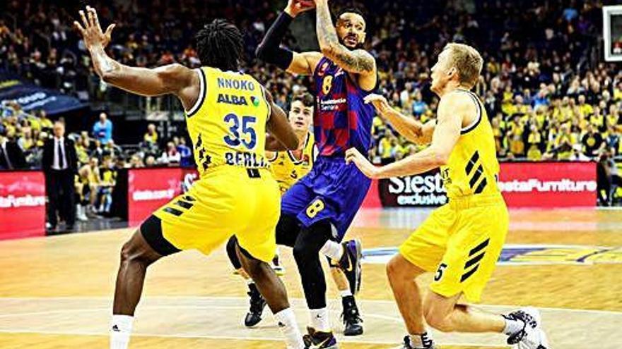 El Barça troba Abrines a temps per vèncer a Berlín