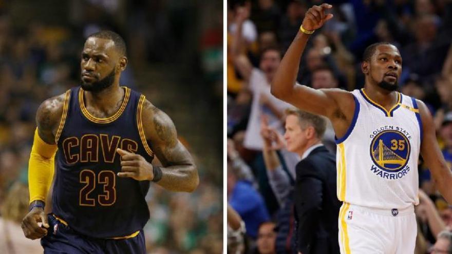 Comença l'apassionant final de la NBA entre Cavs i Warriors