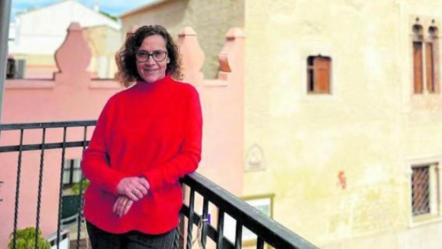 """Marisa Almodóvar Torres: """"Seguiré la ruta  marcada por Llorenç.  Es duro, pero tengo un compromiso con Alfara"""""""