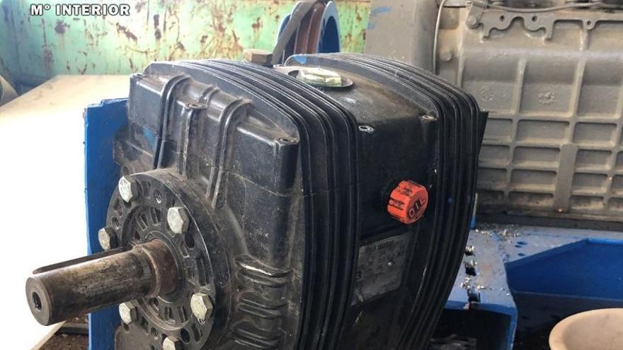 La Guardia Civil detiene a dos hombres por robar una bomba de presión en Bárdenas