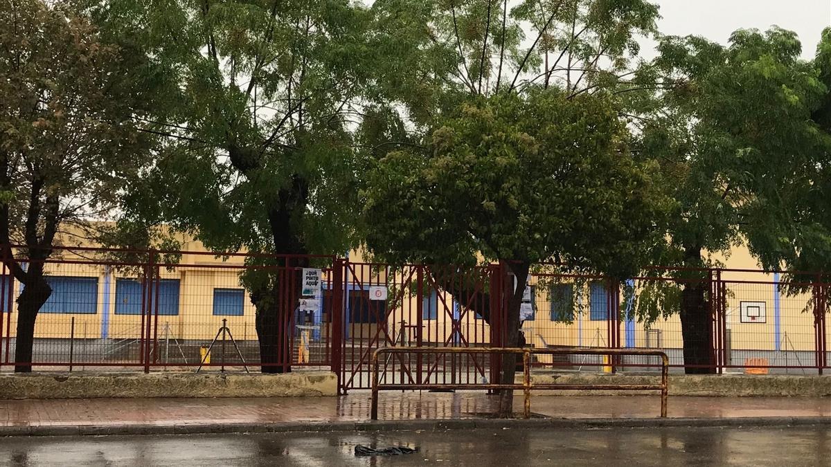 Exterior del Colegio Octavio Augusto de Mérida.