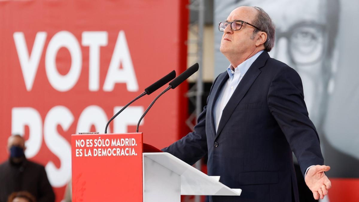 El candidato del PSOE en Madrid, Ángel Gabilondo.