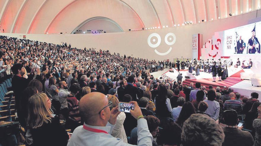 Oviedo, a la caza de congresos, acude en Madrid a una feria de referencia en el sector