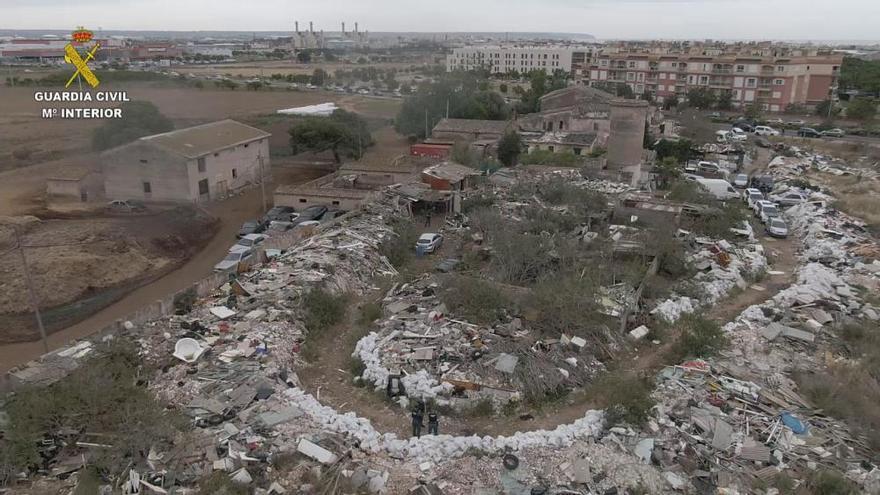 Das ganze Ausmaß der illegalen Müllkippe auf Mallorca